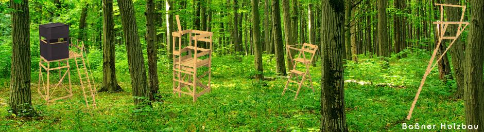 Produkte – Jagdeinrichtung von Baßner Holzbau